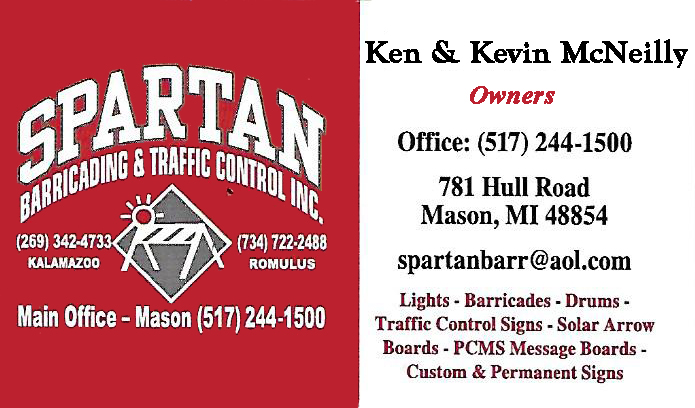 Spartan Barricading & Traffic Control - Ken & Kevin McNeilly