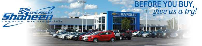 Shaheen Chevrolet - Before you buy, give us a try!