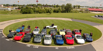Spring Fling to the National Corvette Museum in 2006.