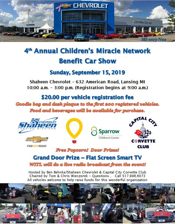 Click here for Children's Miracle Network event flyer