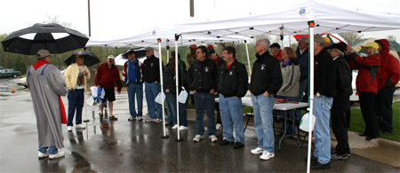 Blessing of the Vettes on May 9, 2009.