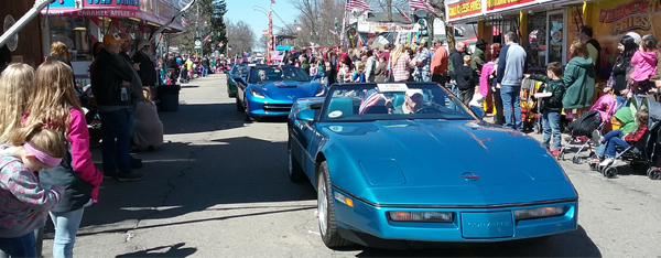 Vermontville Maple Syrup Festival Parade - April 28, 2018.