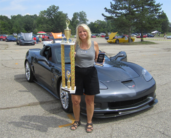 Dominique Palacios took top prize at 2011 Corvettes America!